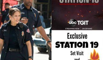 Exclusive Station 19 Set Visit and Cast Interviews