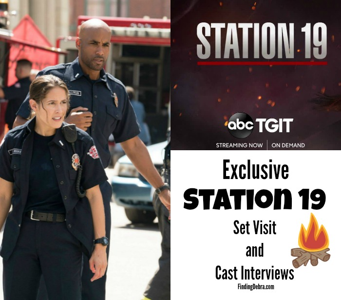 Exclusive Station 19 Set Visit and Cast Interviews - Finding Debra