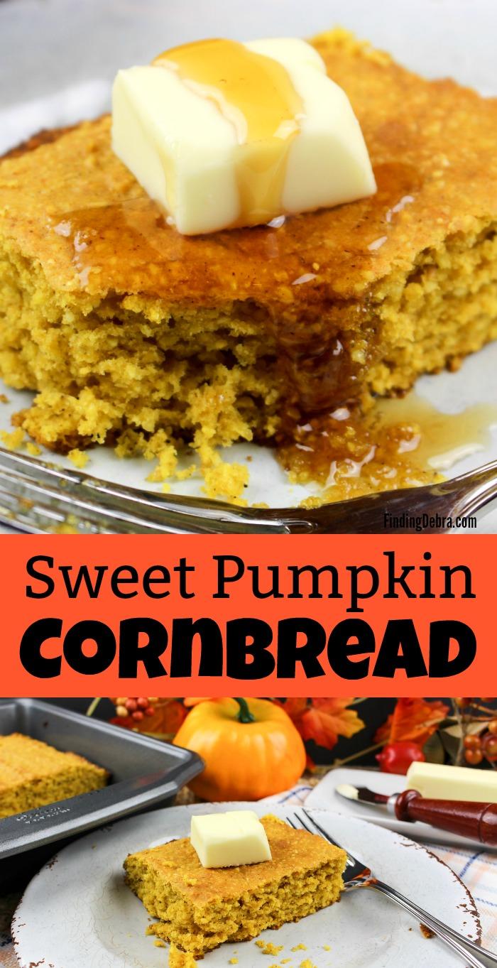 Sweet Pumpkin Cornbread