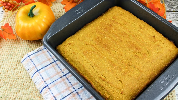 Sweet Pumpkin Cornbread recipe