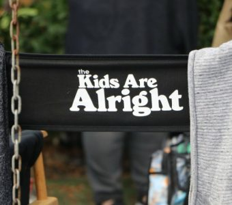 The Kids Are Alright director's chair
