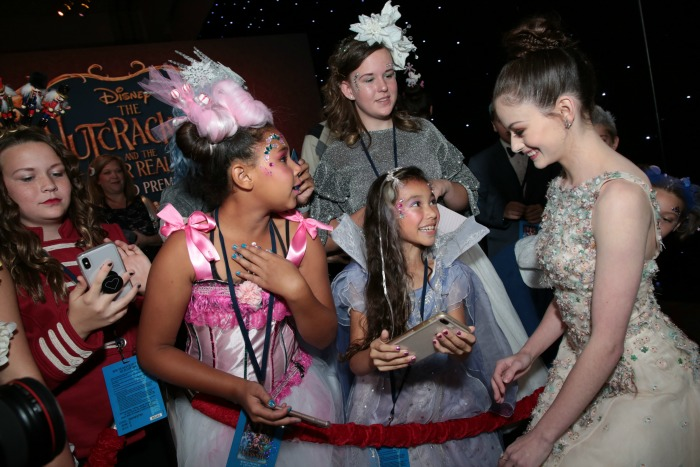 The Nutcracker and the Four Realms red carpet premiere Mackenzie Foy