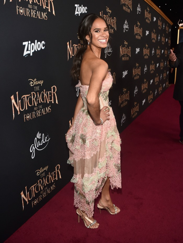 The Nutcracker and the Four Realms red carpet premiere - Misty Copeland