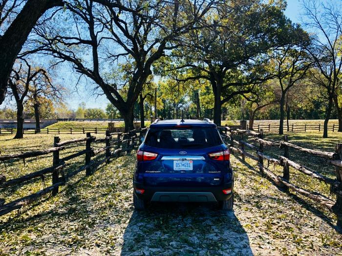 Ford EcoSport during Runaway Bay Texas getaway