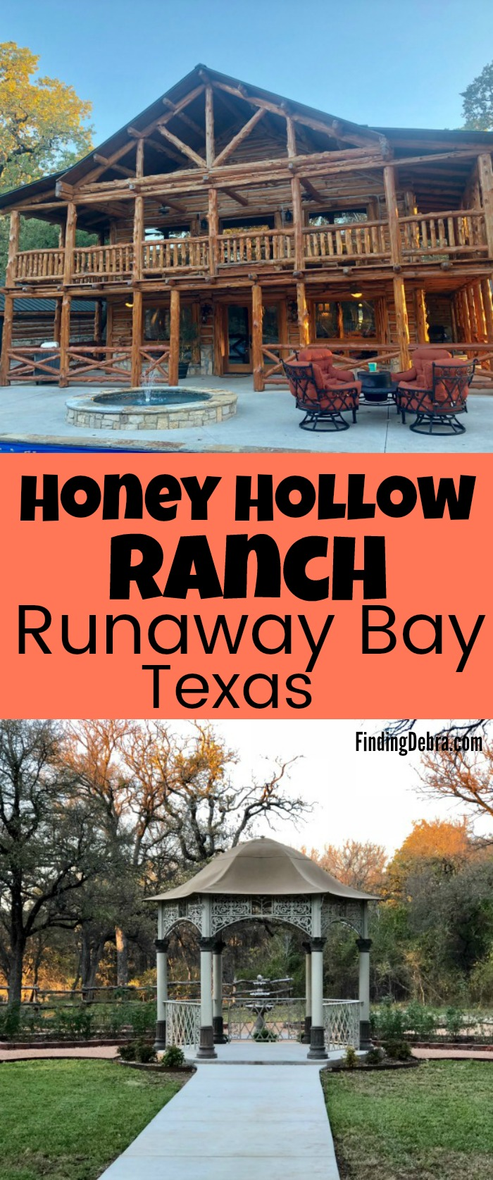 Honey Hollow Ranch in Runaway Bay Texas - perfect rustic wedding venue or corporate retreat getaway