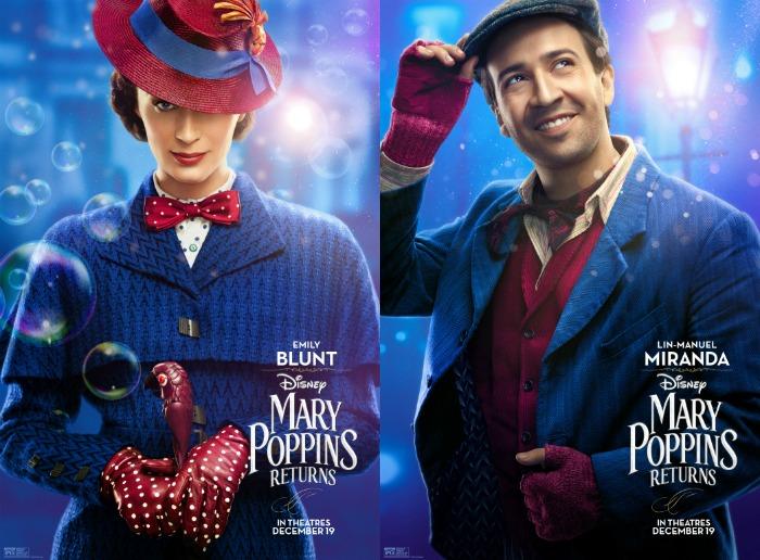Mary Poppins Returns Blunt and Miranda
