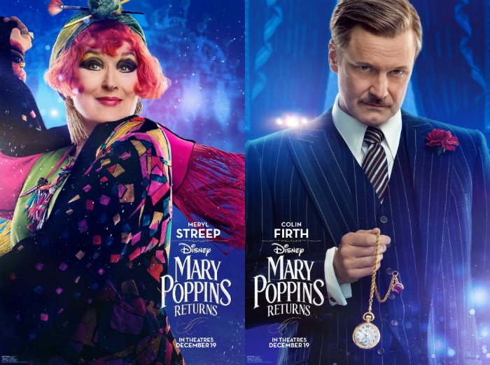 Mary Poppins Returns Streep and Firth