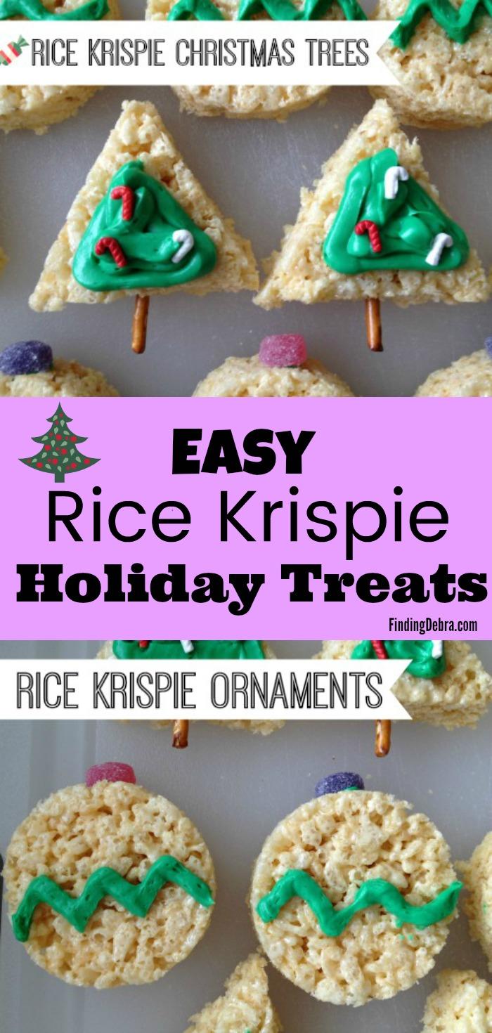 Easy Rice Krispie Holiday Treats