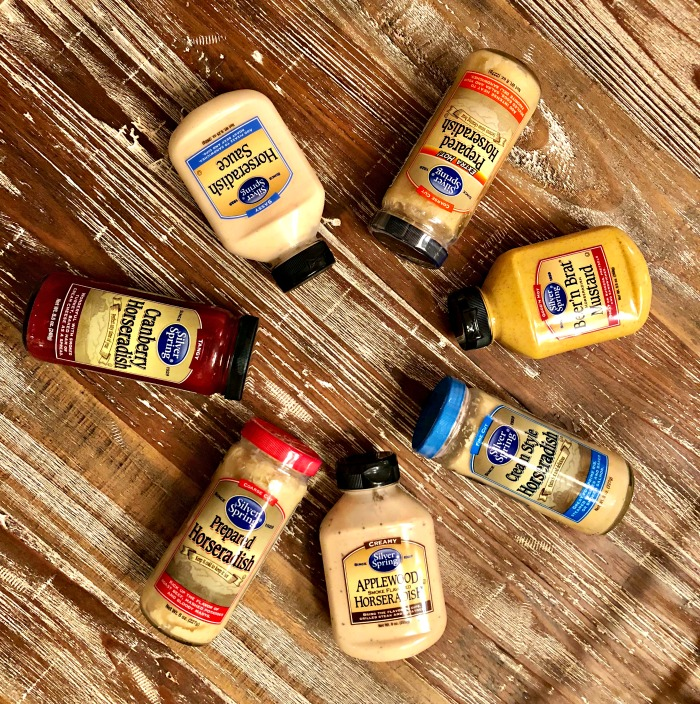 Silver Spring Horseradish products