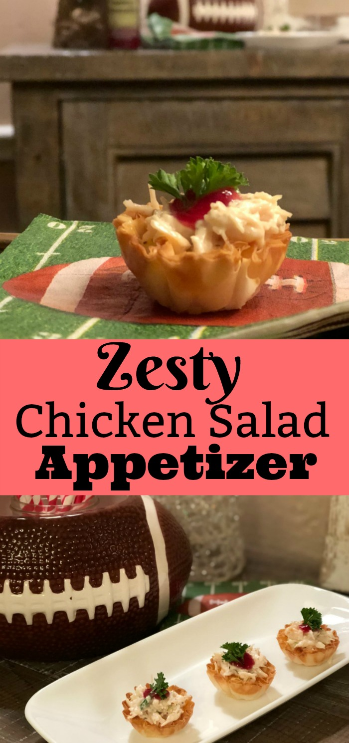 Zesty Chicken Salad appetizer recipe