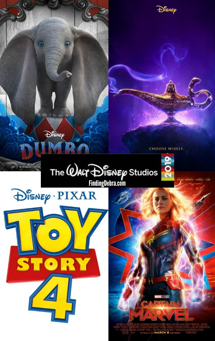 2019 Disney Movie Slate