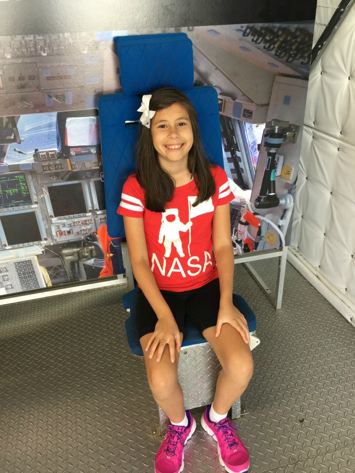 Space Center Houston with Kids