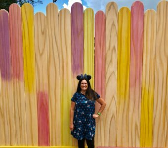 Toy Story Land Instagram Wall - Popsicle Stick Wall