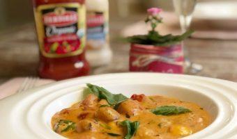 Creamy Rosa Caprese Gnocchi Recipe