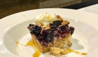 Envy Apple and Blueberry Baked Oatmeal Recipe