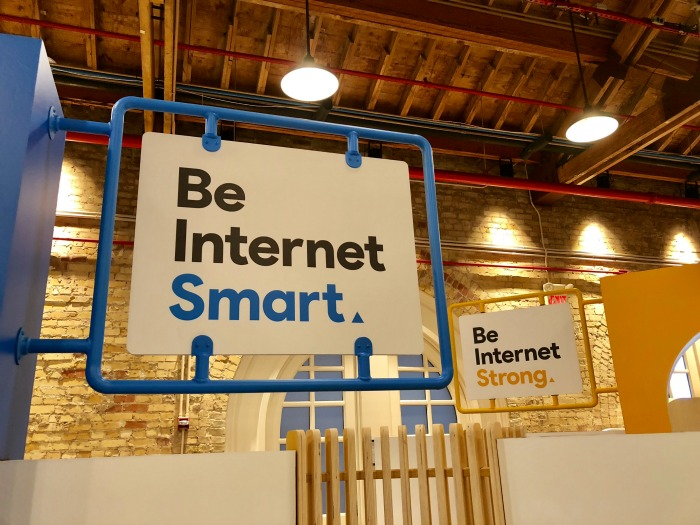 Google's Be Internet Awesome pop up experience San Antonio