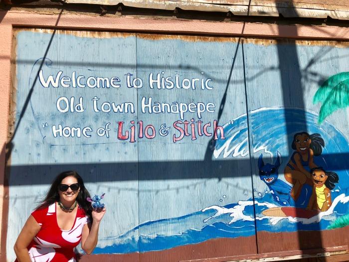Hanapepe, Kauai - Lilo & Stitch mural