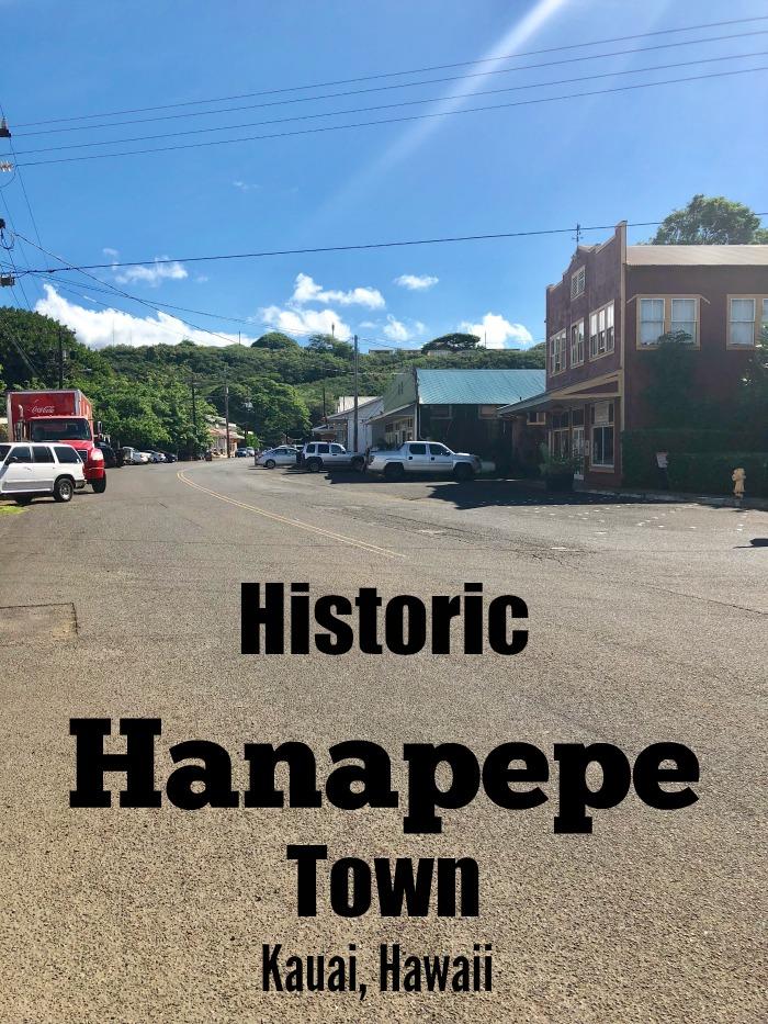 Hanapepe Town, Kauai, Hawaii