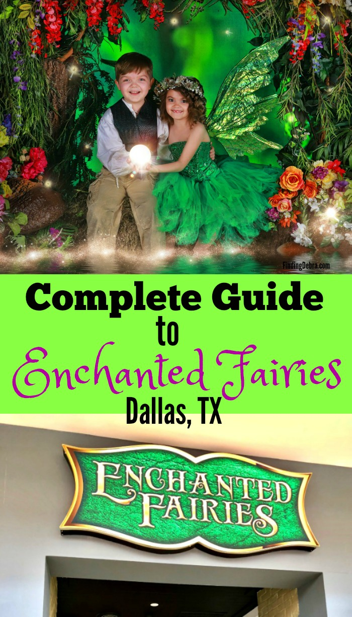 Enchanted Fairies complete guide to Dallas, Texas experience plus an incredible deal for this photography session.