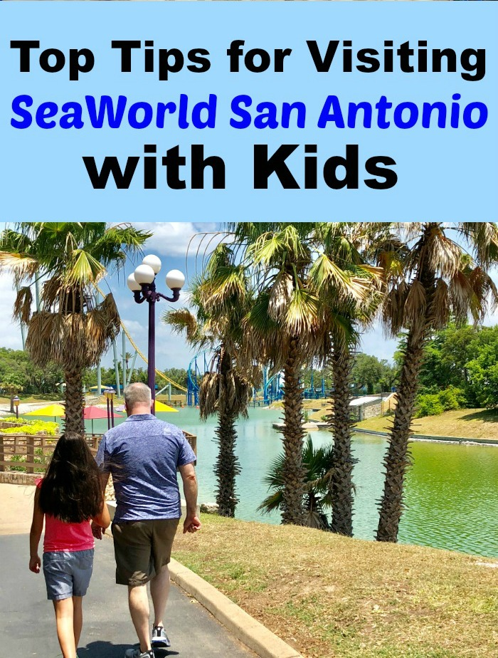 Visiting SeaWorld San Antonio with Kids