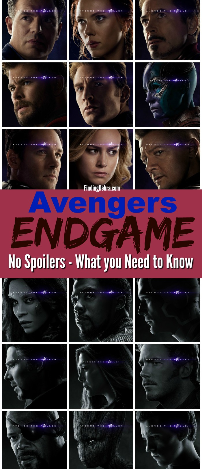 Avengers Endgame Parent Review - No Spoilers - what you need to know 1