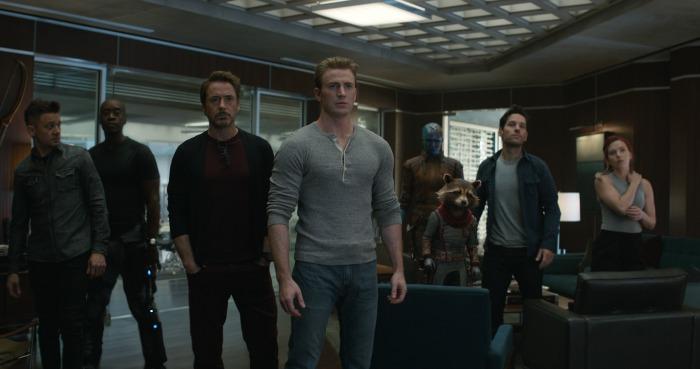 Avengers Endgame scene
