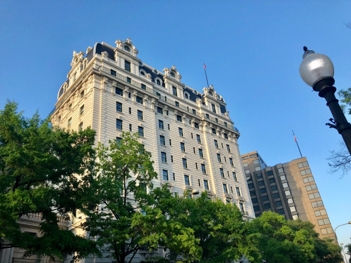 Where to stay in Washington DC - Willard hotel