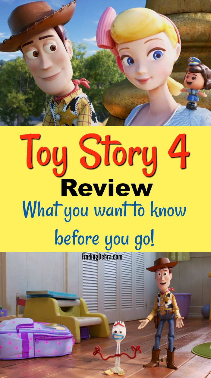 Toy Story 4 review no spoilers