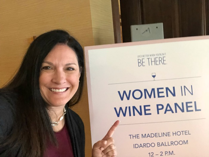 Telluride Colorado Women in Wine Luncheon panelist