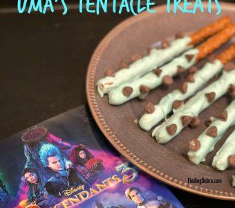 Descendants 3 party food - Uma's Tentacle Treats