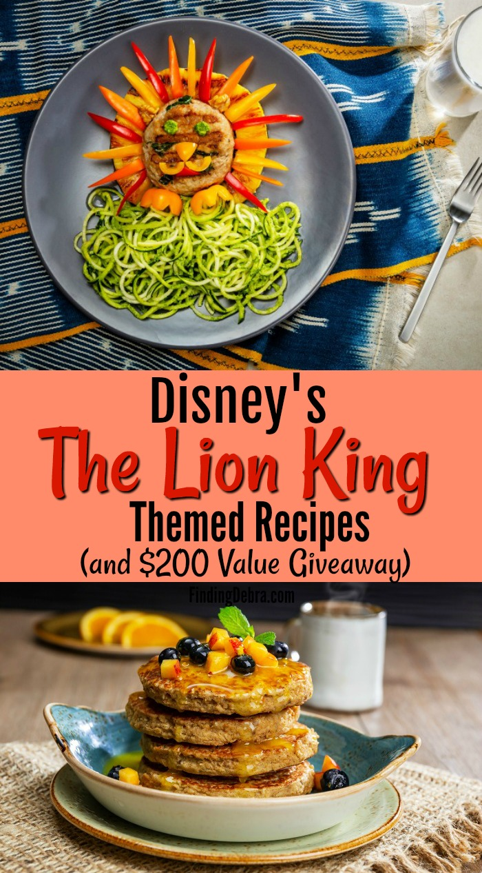 Dole The Lion King Themed Recipes