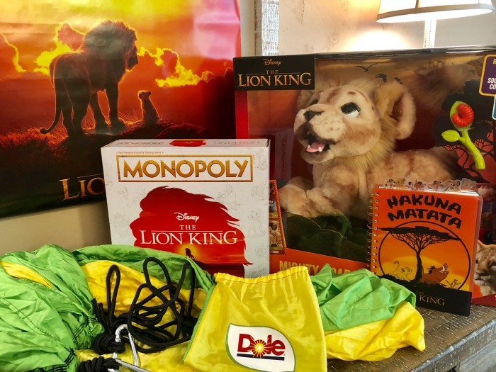 Dole and The Lion King giveaway