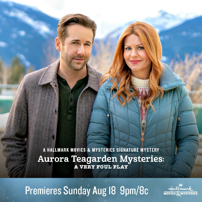 "Hallmark Movies and Mysteries ""Aurora Teagarden Mysteries: A Very Foul Play"" Premiering this Sunday, August 18th at 9pm/8c! - Finding Debra"