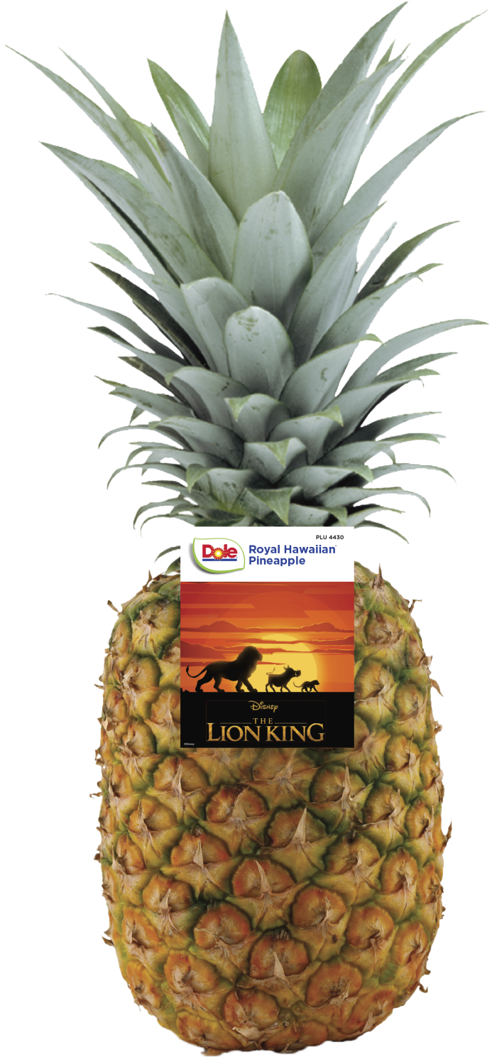 Dole Pineapple The Lion King