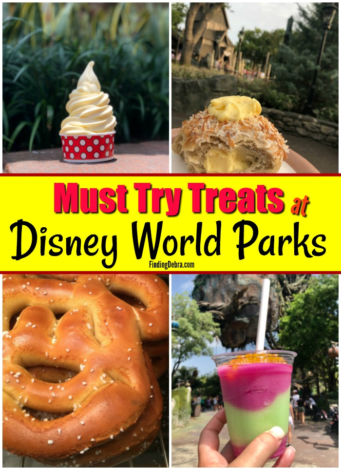 Must Try Treats at Disney World Parks