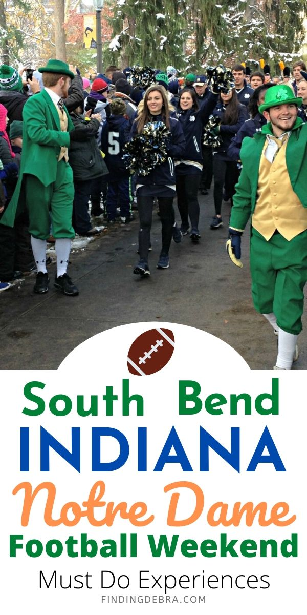 South Bend Indiana Notre Dame Football Weekend Must Do Experiences