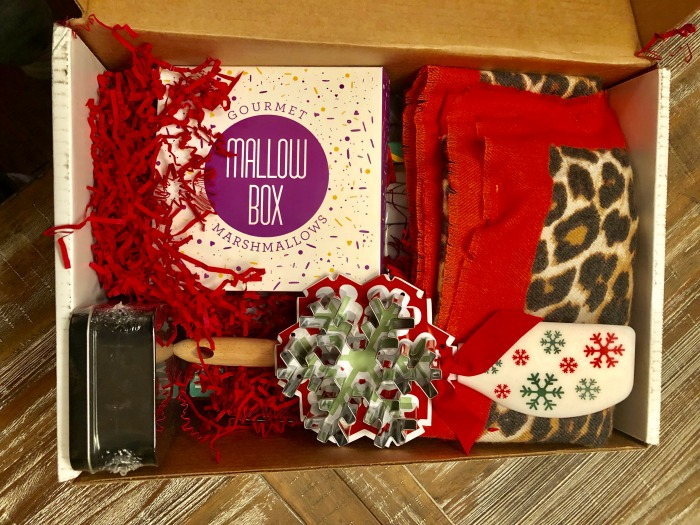 Christmas subscription box