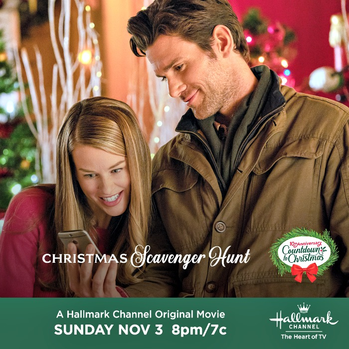 Hallmark Channel Christmas Scavenger Hunt