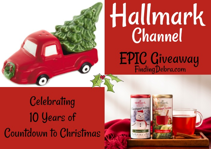 Hallmark Channel giveaway celebrating 10 years of Countdown to Christmas