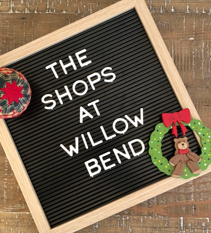 The Shops at Willow Bend Christmas