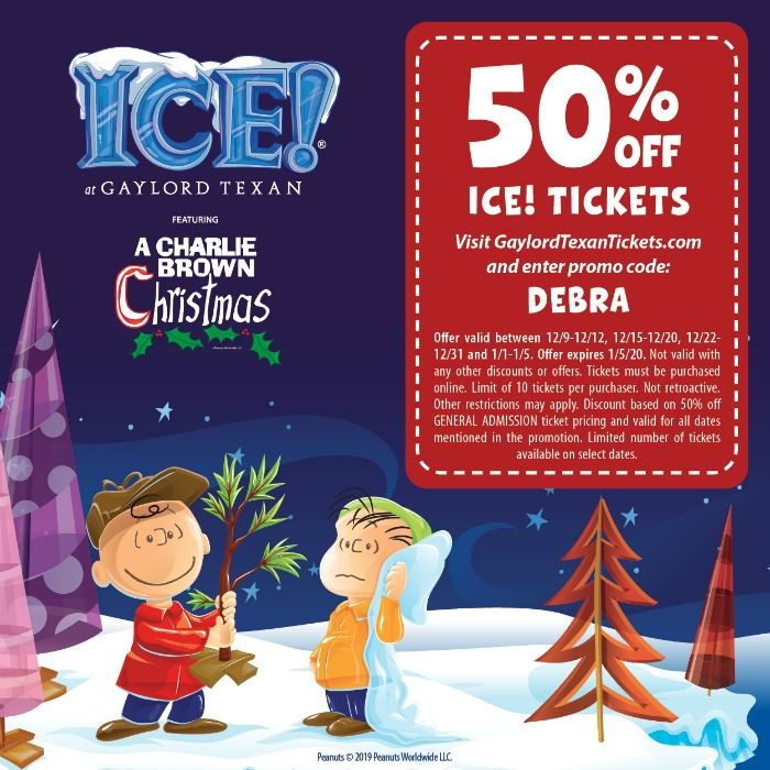 Gaylord Texan ICE Coupon and Discount Code 2019
