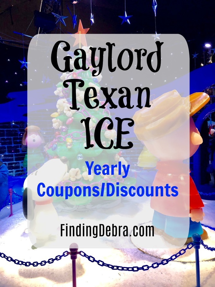 Gaylord Texan ICE Coupon and Promo Codes each year