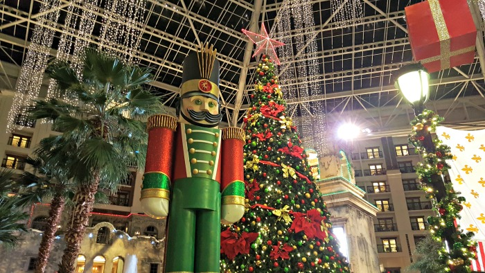 Gaylord Texan at Christmas