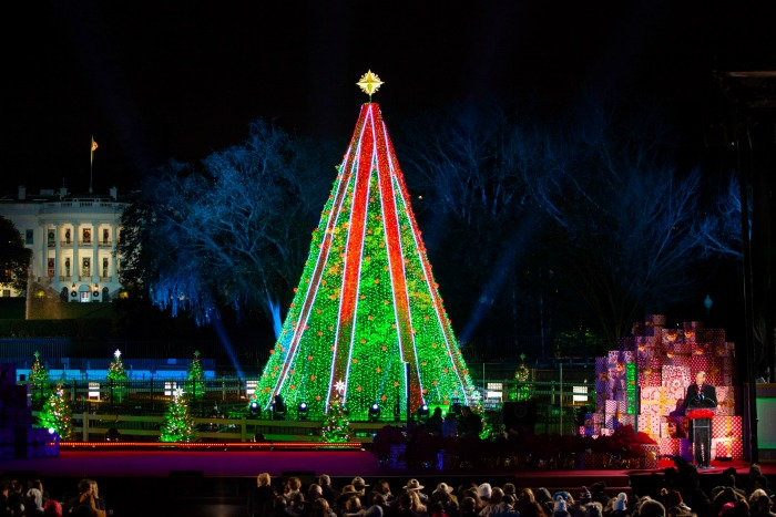 National Christmas Tree Lighting Washington DC