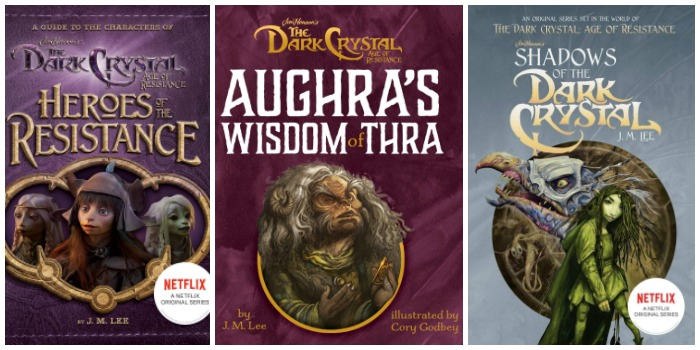 The Dark Crystal Age oF Resistance Books