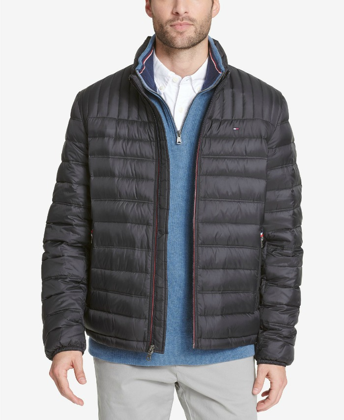 Tommy Hilfiger Big & Tall men's packable jacket