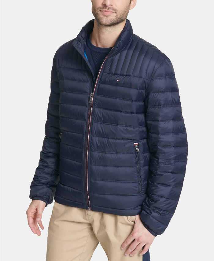 Tommy Hilfiger men's packable jackets at Macy's