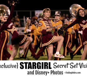 Exclusive STARGIRL Secret Set Visit and Disney+ Photos