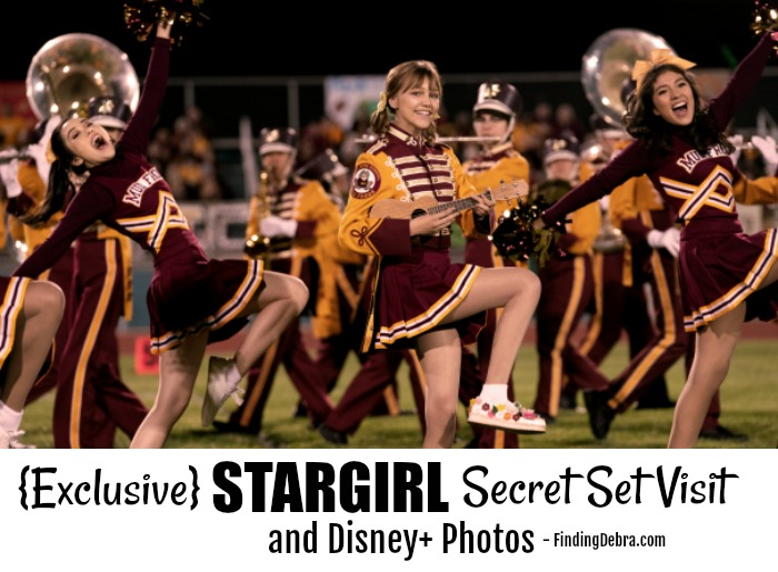 Exclusive STARGIRL Secret Set Visit and Disney+ Photos - Finding Debra