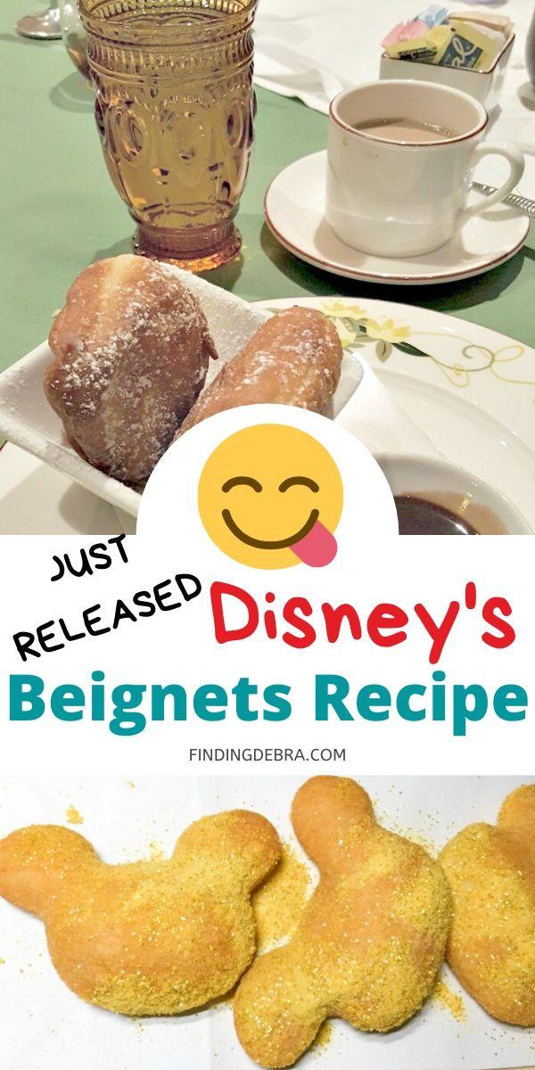 Disney's Beignets Recipe Released